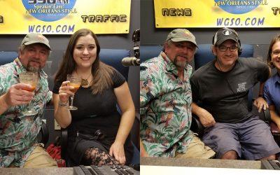 NOLADrinks Show – 6-8-17 – Los Po-Boy-Citos and Saint Cecilia