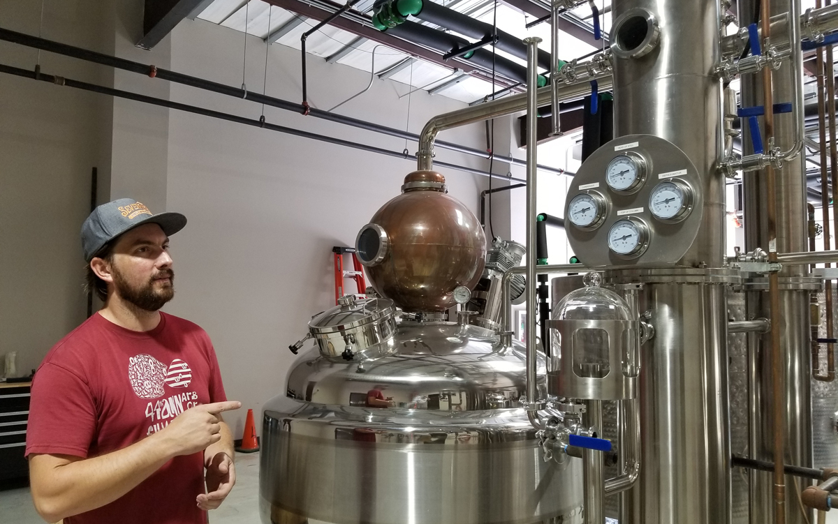 Seven Three Distilling Tour