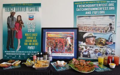 The NOLADrinks Show – 3-22-18 – French Quarter Fest Food – Bloody Mary Fest – Hogs for the Cause