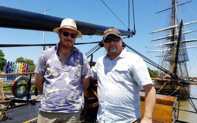 NOLADrinks – 4-26-18 – Picton Castle and Tall Ships NOLA 2018 – Crawfish and NOLA Crawfish Festival