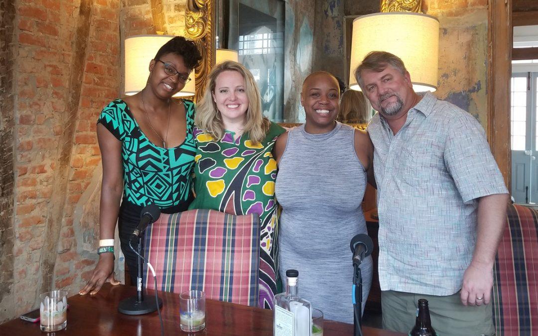 The NOLADrinks Show – 7-23-18 – Tales of the Cocktail and More – Caroline Rosen – Tiffanie Barriere – Keyatta Mincey – Daniela Jagemann