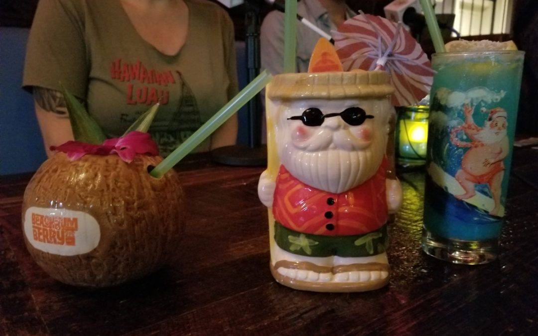 The NOLADrinks Show – 12-24-18 – Holiday Tiki and Sippin' Santa at Latitude 29