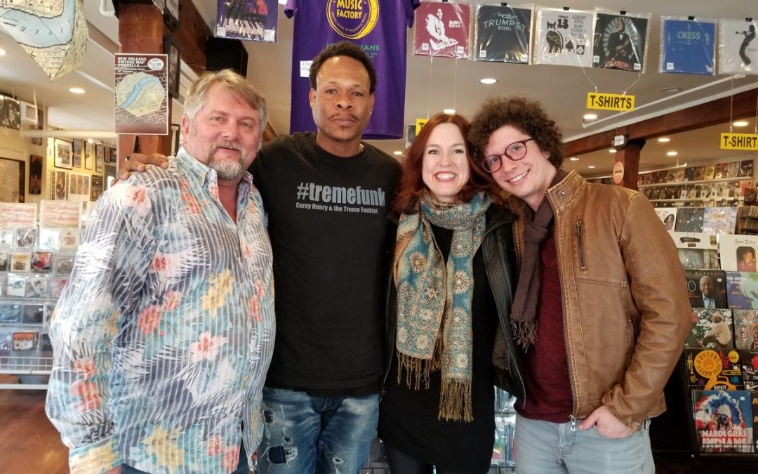 NOLADrinks Show – 2-18-19 – French Quarter Fest Series – Corey Henry and Sweet Crude
