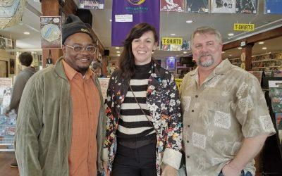 NOLADrinks Show – 3-25-19 – French Quarter Fest Series – Helen Gillet and Derrick Freeman