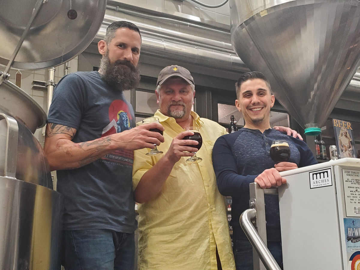 NOLADrinks Show - 4-22-19 - Beers with Sal and Matt - Fruit Beers - Matt Horney of Old Rail Brewing Co., Bryan Dias of The NOLADrinks Show, and Sal Mortillaro of the Beer Judging Certification Program.