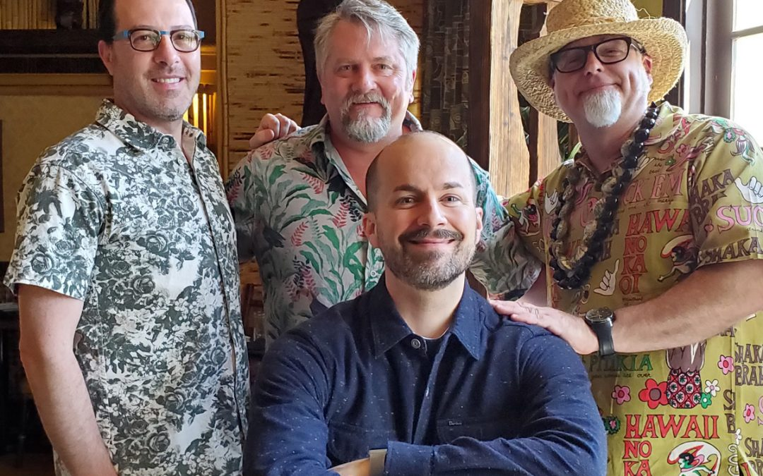 """NOLADrinks Show – 4-15-19 – Vintage Cocktail Books with Jeff """"Beachbum"""" Berry, Greg Boehm, and Jim Meehan"""