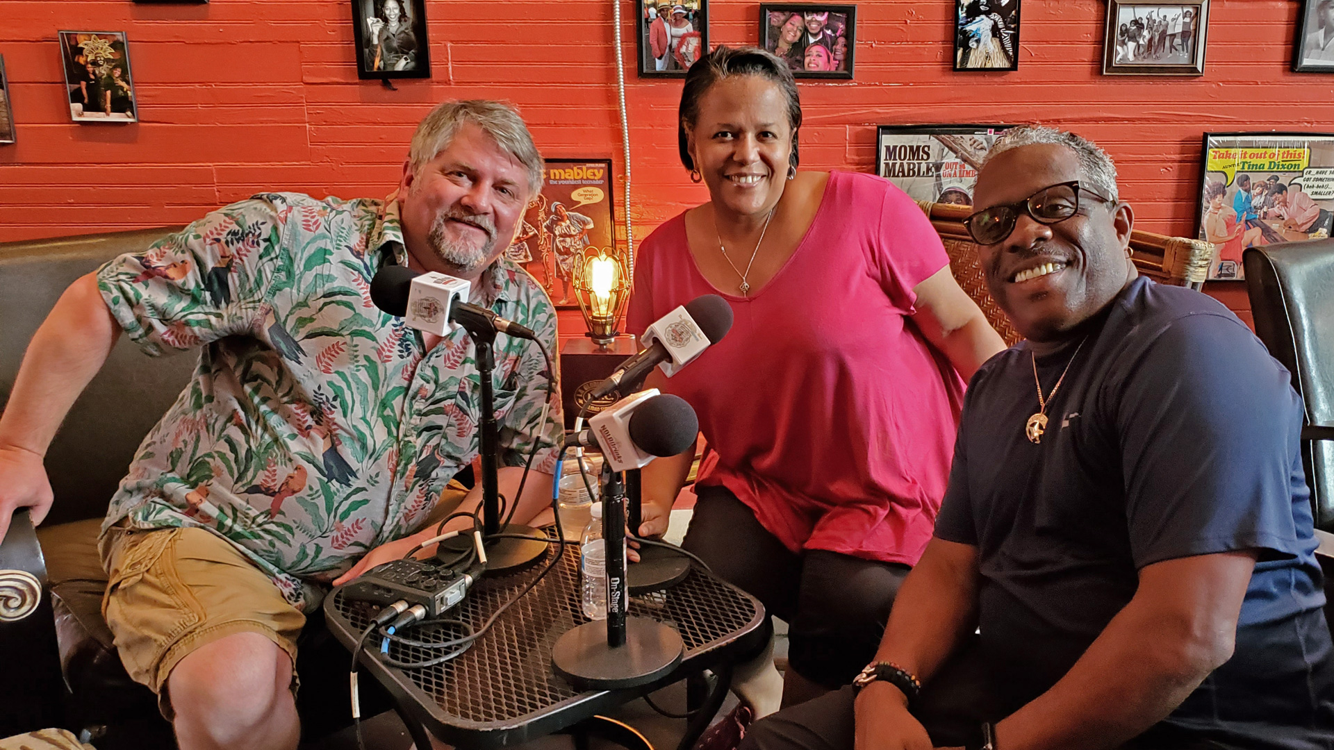 NOLADrinks Show - 7-1-19 - Bayou Road - NOLA Neighborhoods - Bryan Dias of The NOLADrinks Show, Kelder Summers of Whiskey & Sticks, and Mark Lawes of Half Shell on the Bayou.