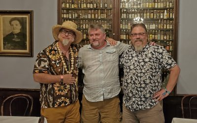 "NOLADrinks Show – 7-29-19 – Cocktail Lists with Jeff ""Beachbum"" Berry and Dave Wondrich"
