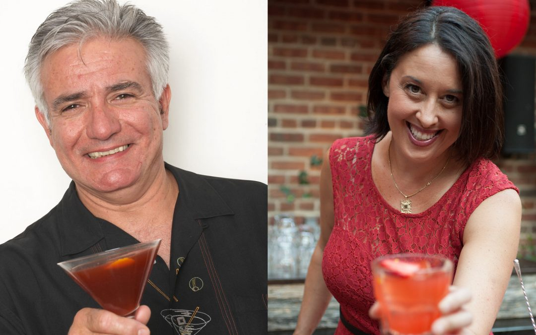 "NOLADrinks Show – 9-23-19 – Dale DeGroff and Julie Reiner – Women in the Cocktail Industry – Marie Brizard ""Toast to HerStory"""