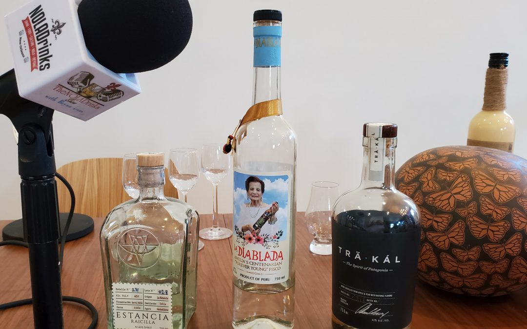 NOLADrinks Show – Liquid Luggage and Spirits Brokering – May20Ep3