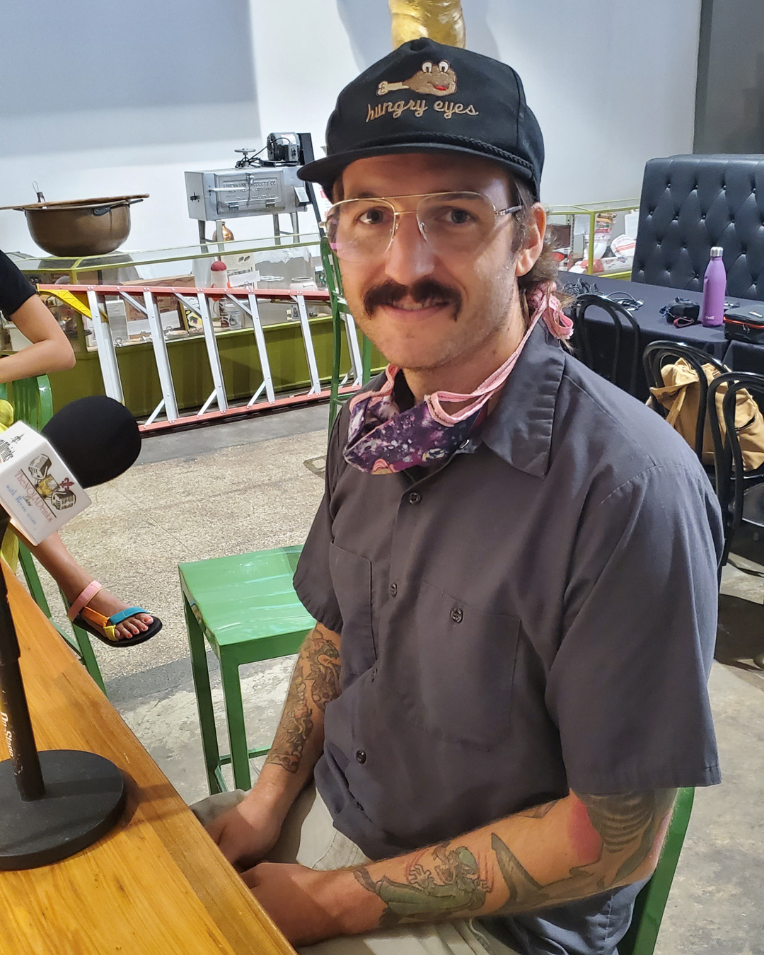 NOLADrinks Show – Systemic Racism in the Hospitality Industry – Jun20Ep2 –Mason Hereford of Turkey and the Wolf and Molly's Rise and Shine at the Southern Food and Beverage Museum.