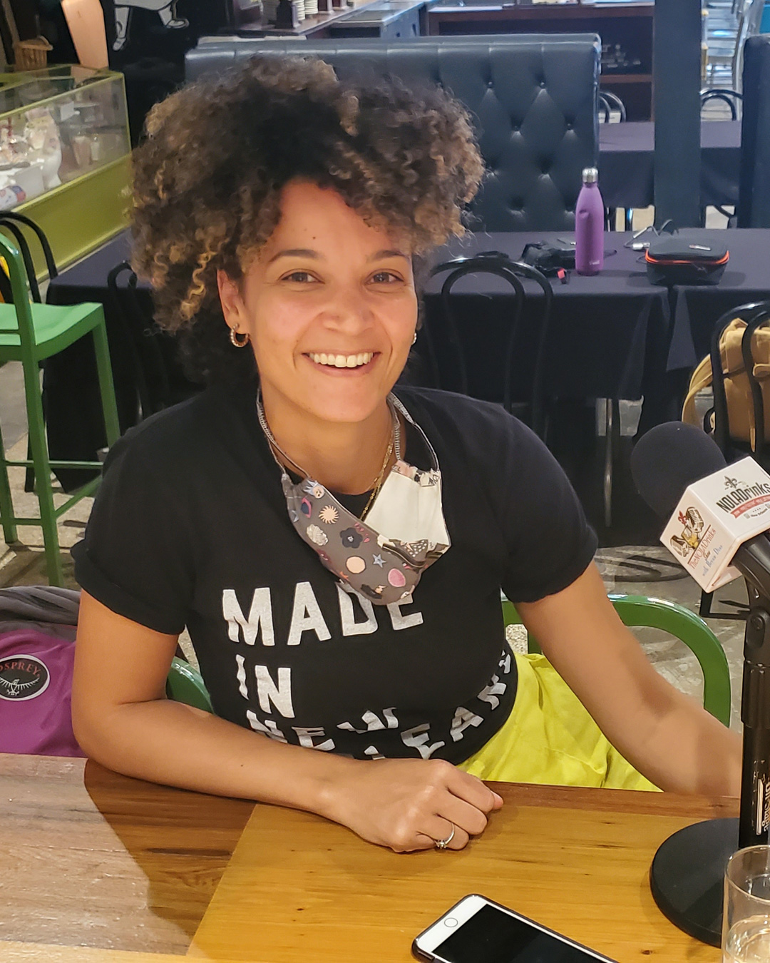 NOLADrinks Show – Systemic Racism in the Hospitality Industry – Jun20Ep2 – Lauren Darnell of the Made in New Orleans Foundation at the Southern Food and Beverage Museum.