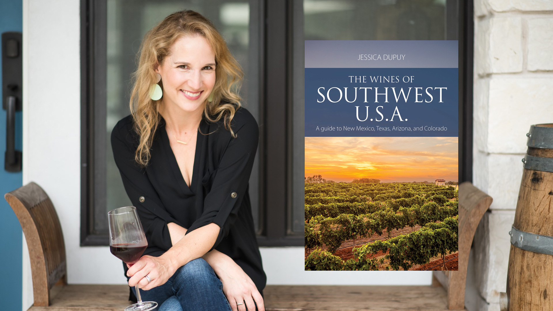 The NOLADrinks Show – Wines of the Southwest USA. Author Jessica Dupuy discussing the wine industry in Arizona, Colorado, New Mexico, and Texas.
