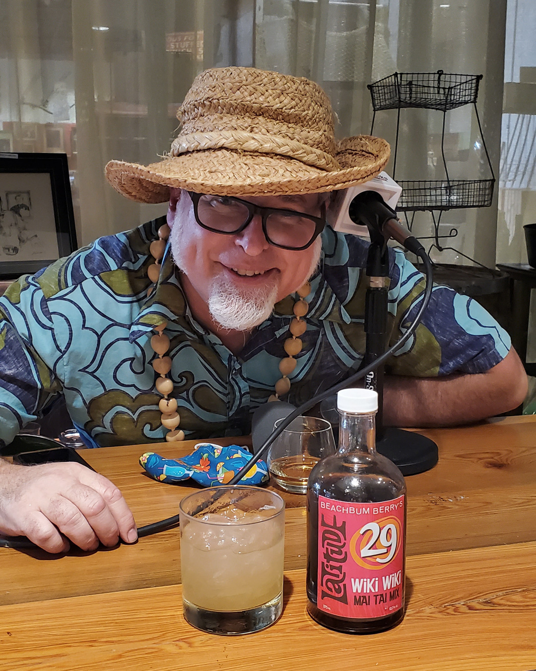 "The NOLADrinks Show – Jeff ""Beachbum"" Berry and Paul Gustings – 2021Ep3 – Tiki Cocktail Historian, author, and co-proprietor of Latitude 29, Jeff ""Beachbum"" Berry."