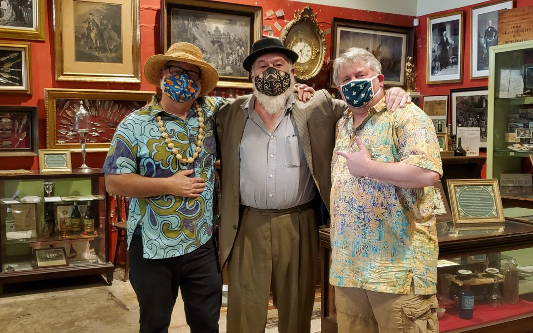 """The NOLADrinks Show – Jeff """"Beachbum"""" Berry and Paul Gustings – 2021Ep3"""