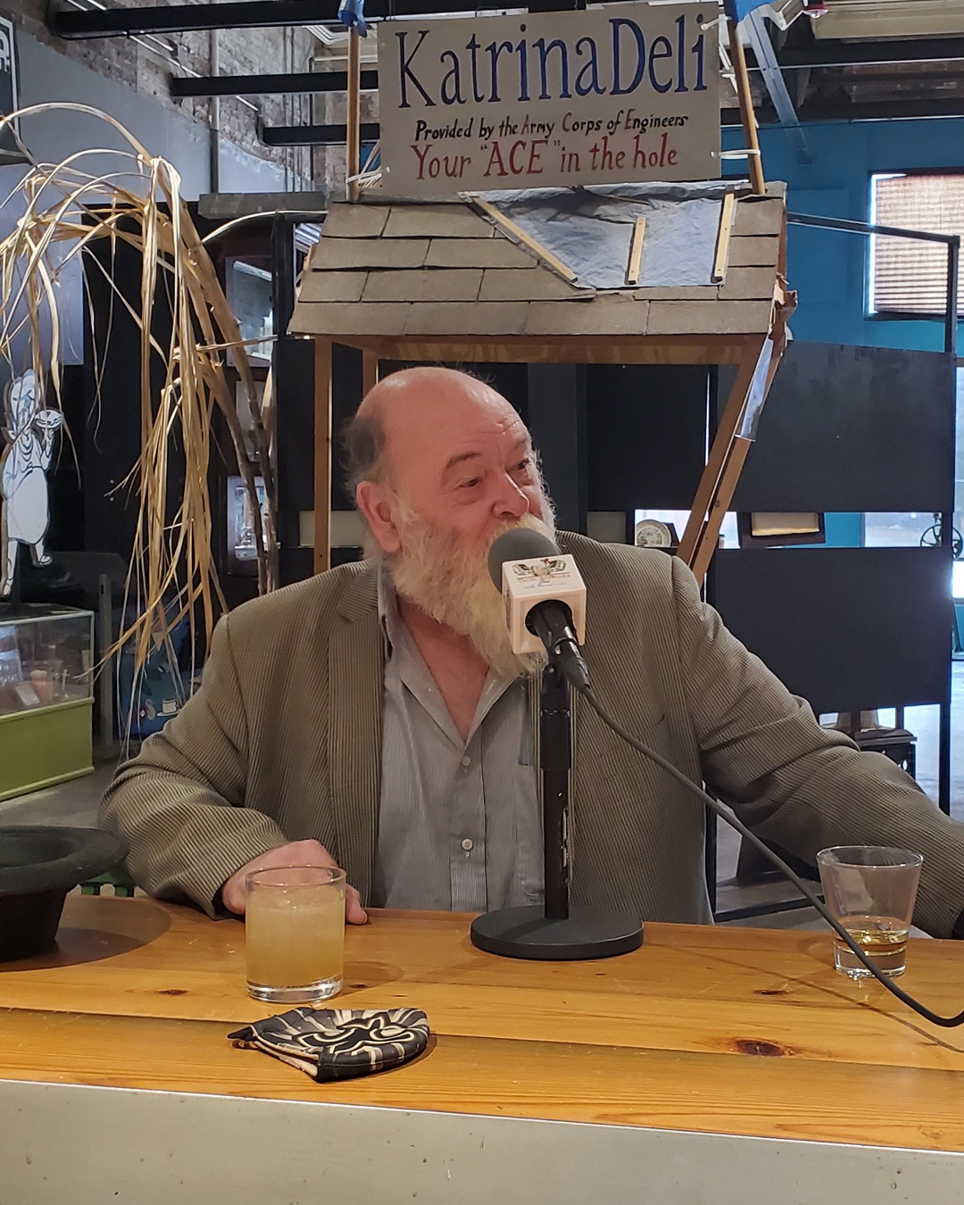 "The NOLADrinks Show – Jeff ""Beachbum"" Berry and Paul Gustings – 2021Ep3 – Paul Gustings."