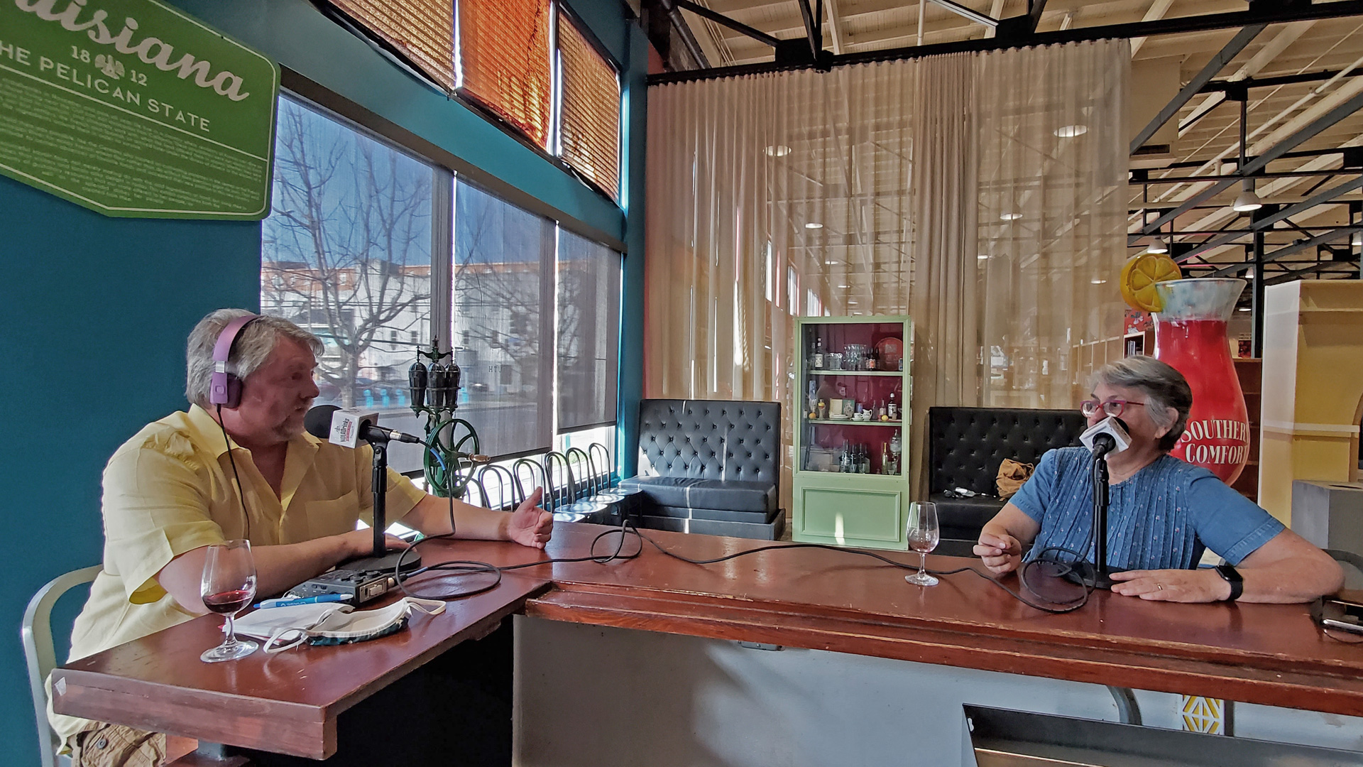 The NOLADrinks Show – Liz Williams of the Southern Food and Beverage Museum – 2021Ep5. Bryan Dias of The NOLADrinks Show and Liz Williams of the Southern Food and Beverage Museum.
