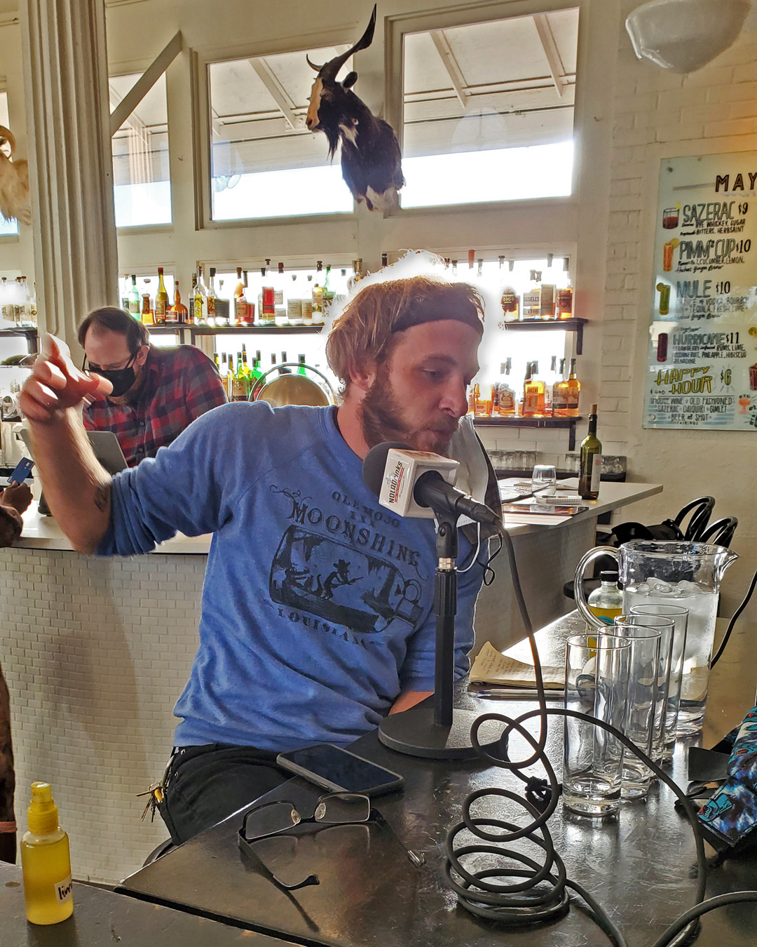 The NOLADrinks Show with Bryan Dias – Sustainability Behind the Bar – 2021Ep6 – Matthew Gardner of St. Roch Market and Huhu's Ginger Brew.