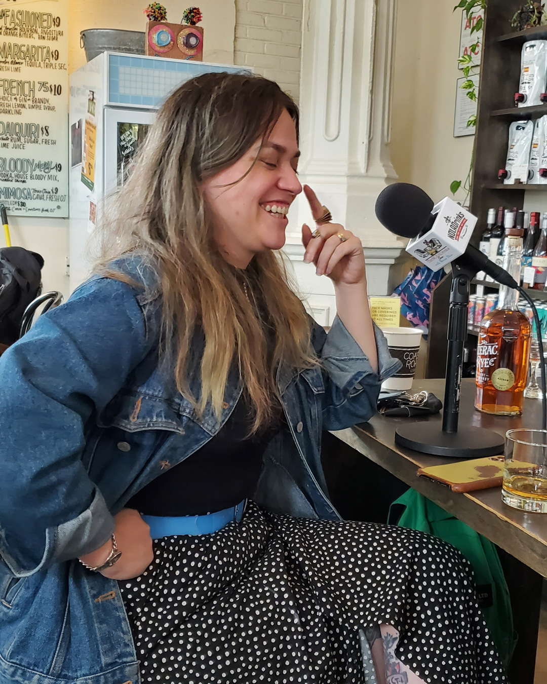 The NOLADrinks Show – Bartenders Roundtable – 2021Ep8 – Sophie Burton of St. Roch Market, Politan Row, and The Mayhaw Cocktail Bar.