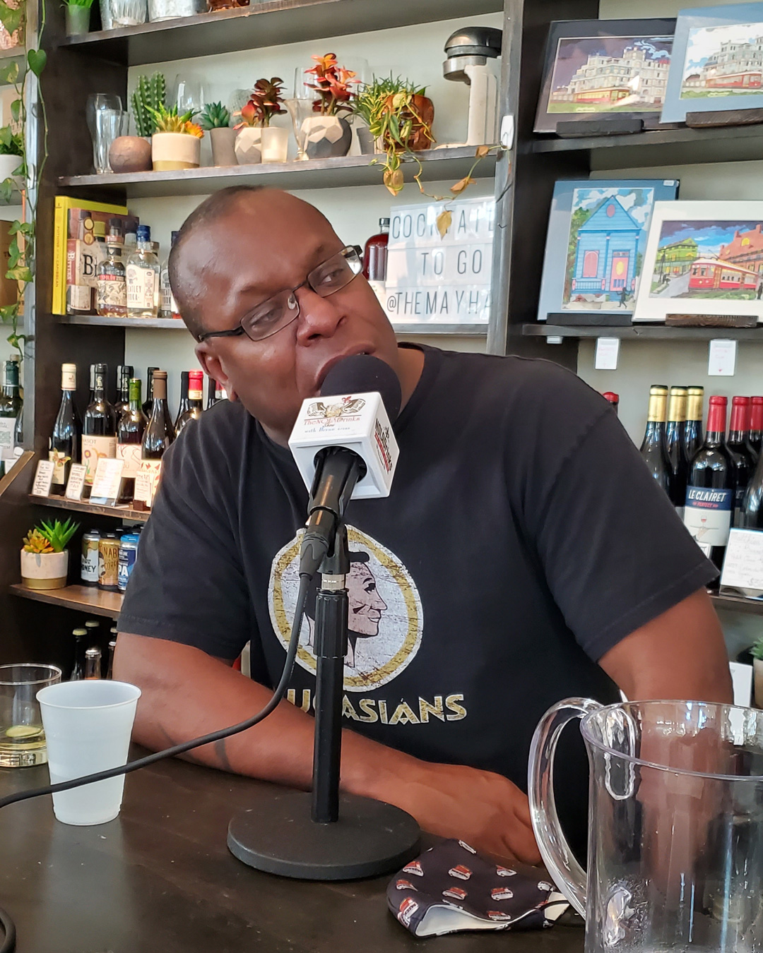 The NOLADrinks Show – Bartenders Roundtable – 2021Ep8 – Geoffrey Wilson of Turning Tables and Latitude 29.
