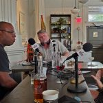 The NOLADrinks Show – Bartenders Roundtable – 2021Ep8 – Geoffrey Wilson of Turning Tables, Bryan Dias of The NOLADrinks Show, and Sophie Burton of St. Roch Market.