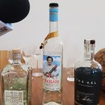 NOLADrinks Show – Liquid Luggage and Spirits Brokering with PM Brokerage – May20Ep3 – Some spirits we sampled in Liquid Luggage #3 – Estancia Raicilla, Macchu Pisco La Diablada, and Träkál.