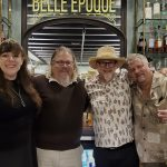 "NOLADrinks Show – Jeff ""Beacbum"" Berry and David Wondrich – Jan20Ep1 – Laura Bellucci of Belle Époque, David Wondrich, Jeff ""Beachbum"" Berry, and Bryan Dias of The NOLADrinks Show."