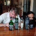Bryan Dias of NOLADrinks and spirits educator and consultant, Danny Ronen.